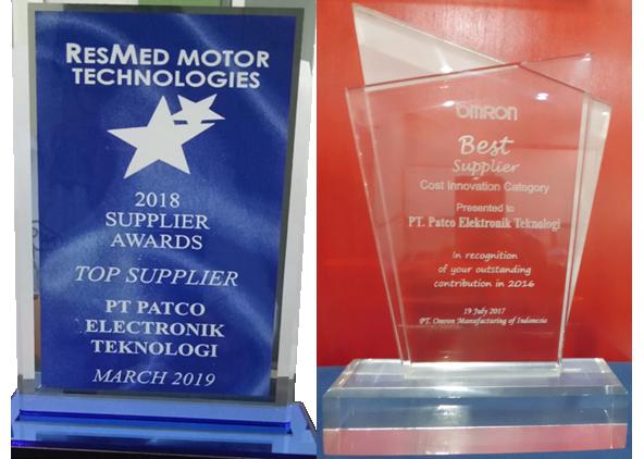Award : Top Supplier(RESMED) &  Best Supplier(OMRON)